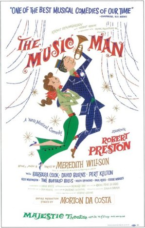 Broadway's The Music Man original poster