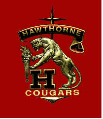 Hawthorne HS log w cougars